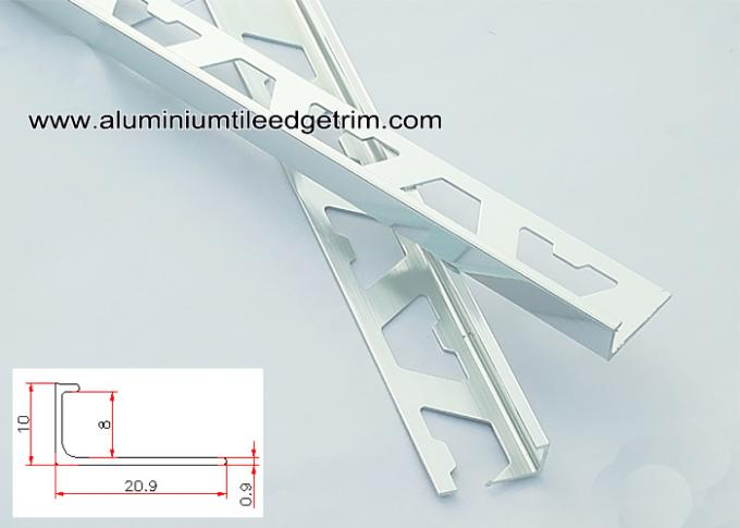 8mm chrome tile trim datar