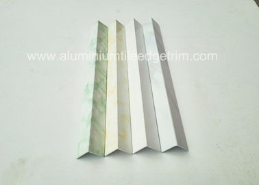 Cina Powder Coating Marbling Aluminium Corner Guards Profil / Wall Corner Edge Protectors pemasok
