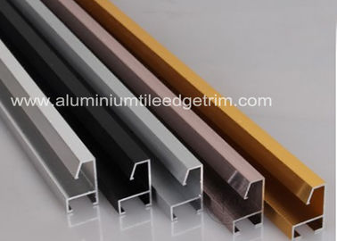 Cina Disesuaikan Aluminium Picture Frame Mouldings Anodized Treatment Solid Structure pemasok