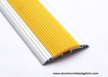 Cina Anti Slip Aluminium Floor Trims Tinggi Disesuaikan / Edge Transition Floor Tile Beading pemasok