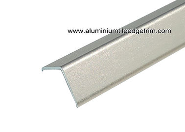 Fast Installation 2.5m Length Aluminum Edge Protector With Sand Blasting Rose Gold