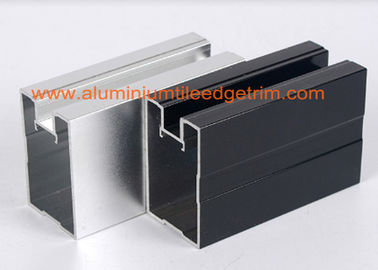 Cina Extruded Aluminium Extrusion Profilees Channel, Aluminium Profil Extrusions Thermal Break pabrik