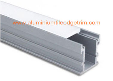 Deep Recessed Extruded LED Strip Light Aluminium Channel Waterproof Long Lifespan