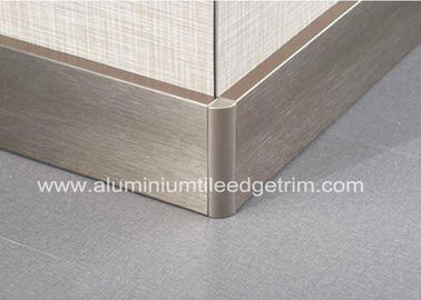 Cina Titanium Gold Aluminium Skirting Boards Perth / Bunnings For Wall Edge Protection pabrik
